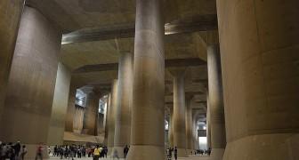 Il Partenone sotterraneo: l'impressionante sistema anti alluvione della città giapponese di Kasabe è meta dei turisti