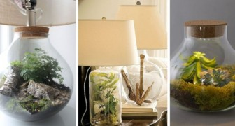 8 spunti pieni di fascino per arredare con splendide lampade-terrarium