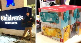 Un ragazzo guadagna 30.000 $ dalle azioni GameStop: li spende donando videogiochi a un ospedale pediatrico
