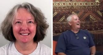 Op haar 60e ondergaat ze een duidelijke verandering van uiterlijk en zelfs haar man heeft in het begin moeite om haar te herkennen