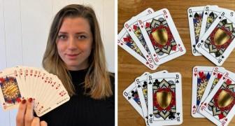 Una ragazza di 23 anni spodesta il re dal suo trono e crea un mazzo di carte che non fa distinzione di genere