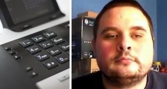 Lassé des trop nombreux appels commerciaux, cet homme a transformé son numéro en un service payant