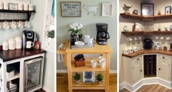 10 propositions irrésistibles pour transformer un angle de la maison en espace pour le petit déjeuner