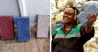 Questa donna ha creato una startup che trasforma i rifiuti plastici in mattoni più resistenti del cemento