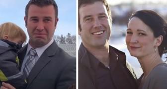 Uno sconosciuto dona 10.000$ a un vedovo con 7 figli che ha appena perso la moglie: un gesto commovente
