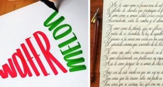 19 esempi di calligrafie così perfette e accurate che sono un vero piacere per gli occhi