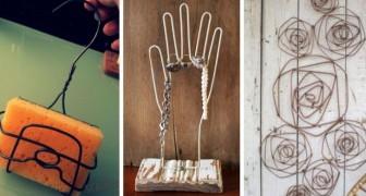 9 idées parfaites pour recycler les cintres et les transformer en décorations et objets utiles