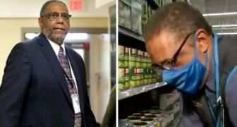 Schulleiter arbeitet Nachtschicht in einem Supermarkt, um sein Gehalt für Schüler in finanzieller Not zu spenden