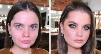 15 photos du travail d'une maquilleuse montrent que pour mettre en valeur un visage, il n'est pas nécessaire d'en faire trop