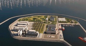 Dänemark wird die erste künstliche Energie-Insel bauen: mit Windkraft werden 10 Millionen Haushalte versorgt