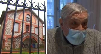 Krakers bezetten het huis van een 88-jarige man die het wilde verkopen om zich bij zijn vrouw in een bejaardentehuis te voegen