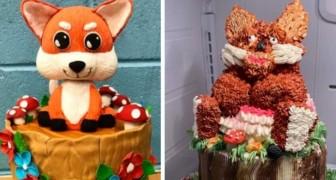 18 personnes qui ont essayé de faire des gâteaux d'anniversaire élaborés avec des résultats désastreux