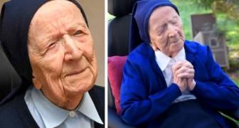 Diese Nonne ist der älteste Mensch Europas: mit 117 Jahren hat sie Covid-19 besiegt