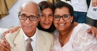 Una estudiante decide casarse con un jubilado con la bendición de la familia: tienen una diferencia de edad de 51 años