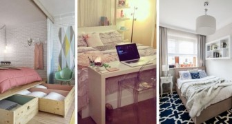 10 soluzioni brillanti per arredare con gusto e praticità anche le camere da letto più piccole