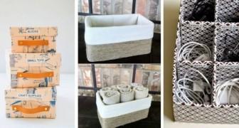 Trasforma le scatole delle scarpe in accessori utili con 10 imperdibili progetti creativi