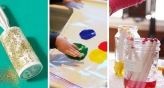 Divertiamoci con vernici e colori senza sporcare troppo: 7 lavoretti per i bimbi che fanno al caso nostro