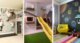 Trasforma la casa in un parco giochi e divertiti con queste idee sbalorditive insieme ai più piccoli