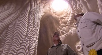 A man spends 25 years underground: what he's creating is beyond imagination !
