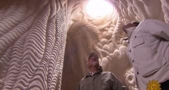 Un homme passe 25 ans sous terre: ce qu'il crée dépasse l'entendement, wow!