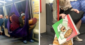 Now I've seen everything: some of the strangest and most unusual people met on board the subway