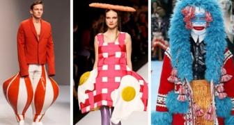 17 capi d'alta moda talmente stravaganti che forse non li abbiamo capiti