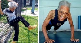 A 100 anni questa donna è diventata campionessa di atletica leggera nella categoria over 80