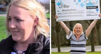 A single mom with two autistic children wins the national lottery: now she no longer has to worry about the future