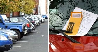 Ein Auto belegt tagelang seinen reservierten Parkplatz: Er findet einen Weg, um ihn zu 18 Strafmandaten zu zwingen