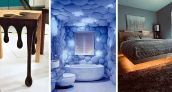 Bando alla noia con queste idee di design stravaganti, ideali per una casa che si fa notare