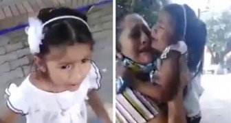 Implora llorando no ser separada de la madre adoptiva: el video es angustiante