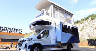 Nennen Sie es nicht Wohnmobil: Dieses Fahrzeug kann zu einer Luxuswohnung werden, als wäre es ein Transformer