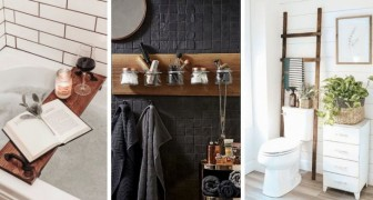 Ajoutez du confort et du style à votre salle de bain en dépensant peu grâce à ces 11 astuces brillantes