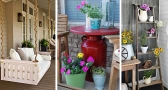 Créez le porche de vos rêves avec ces 15 idées rustiques mais accueillantes