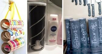 Mille oggetti utili dai tubi delle patatine: prendete spunto da queste idee super-creative