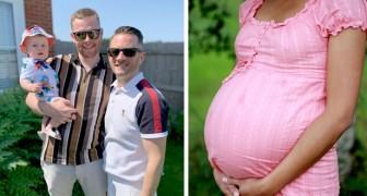 Madre de 6 hijos ayuda a su hermano gay y a su pareja a ser padres llevando en el vientre a su futuro hijo