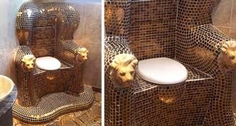 15 badkamers die zo extravagant zijn, dat mensen die ze hebben geobserveerd perplex waren