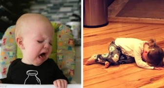 He cries because he cannot eat the magnets on the refrigerator: 17 children cry for the most absurd reasons