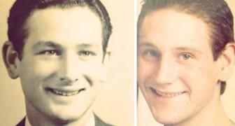 De kracht van de genetica: 18 foto's van mensen die ontdekten dat ze er hetzelfde uitzien als hun ouders