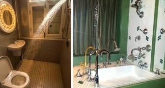 Hideous bathrooms: 18 people managed to capture some of the most unsightly designs around