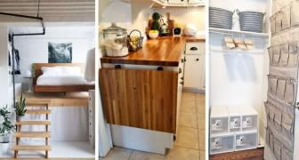 Si vous n'avez pas assez de place chez vous, testez ces solutions géniales pour meubler de façon efficace