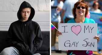 Der Sohn erklärt, dass er schwul ist, und der Vater wirft ihn aus dem Haus: Die Mutter verlangt sofort die Scheidung