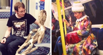 Scene di ordinaria follia: 18 persone riprese nelle situazioni più assurde in metropolitana