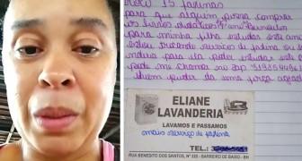Mutter in finanzieller Not bietet Waschdienste im Gegenzug für Schulmaterialien für ihre Tochter an