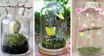 Pasqua in barattolo: 10 decorazioni adorabili da realizzare dentro i contenitori di vetro