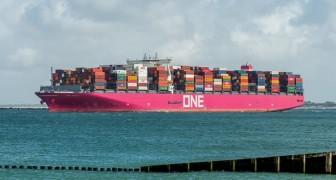 Dieses Schiff scheint am Himmel zu schweben: Ein Mann fängt die unglaubliche optische Täuschung ein