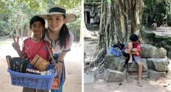 Vid 14-års ålder säljer han souvenirer på gatan och pratar 12 olika språk - en turist upptäcker hans naturliga talang