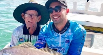 An elderly widower publishes an ad in which he seeks a friend to go fishing together: he doesn't want to be alone