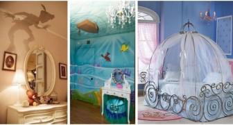 Camerette Disney: 12 idee da sogno per portare la magia delle favole in casa