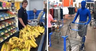 Eigenaardigheden in de supermarkt: 19 klanten die opvielen tijdens het winkelen